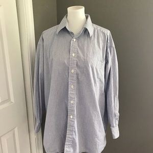 Tommy Hilfiger Mens Button Down Size 17-32/33